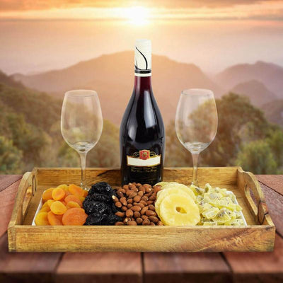 The Dried Fruit and Wine Passover Basket