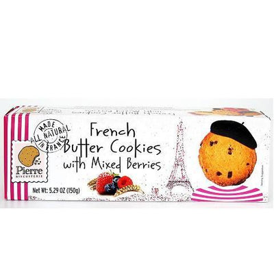 Tea & French Cookies Gift Basket