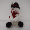 The Warm Winter with Snowman Christmas Basket