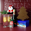 Santa's Chocolate & Bubbly Celebration Basket, champagne gift baskets, Christmas gift baskets