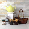 Tea & Muffins Gift Set, gourmet gift baskets