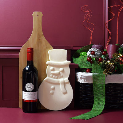 The Chocolate Snowman Wine Gift