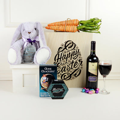 "The ""Happy Easter"" Wine Gift Set"