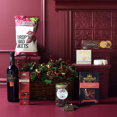 When Salty Meets Sweet Wine Gift Basket