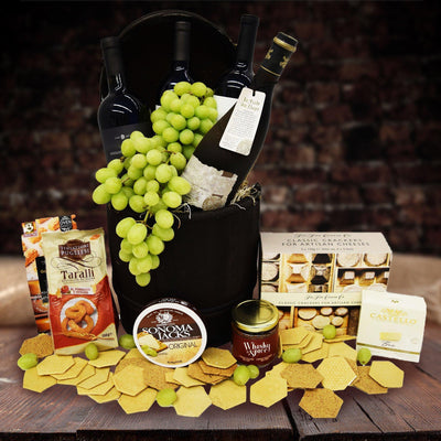 The Wine Feast Gift Barrel