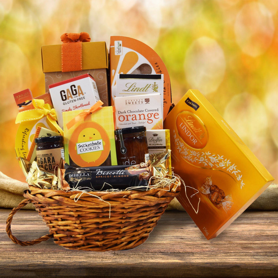 Tea gift baskets yorkvilles usa the citrus chocolate gift basket negle Image collections