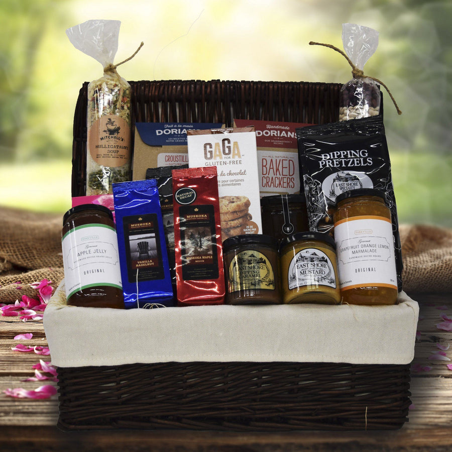 Get well soon gift baskets yorkvilles usa sweet and spicy picnic basket negle Gallery