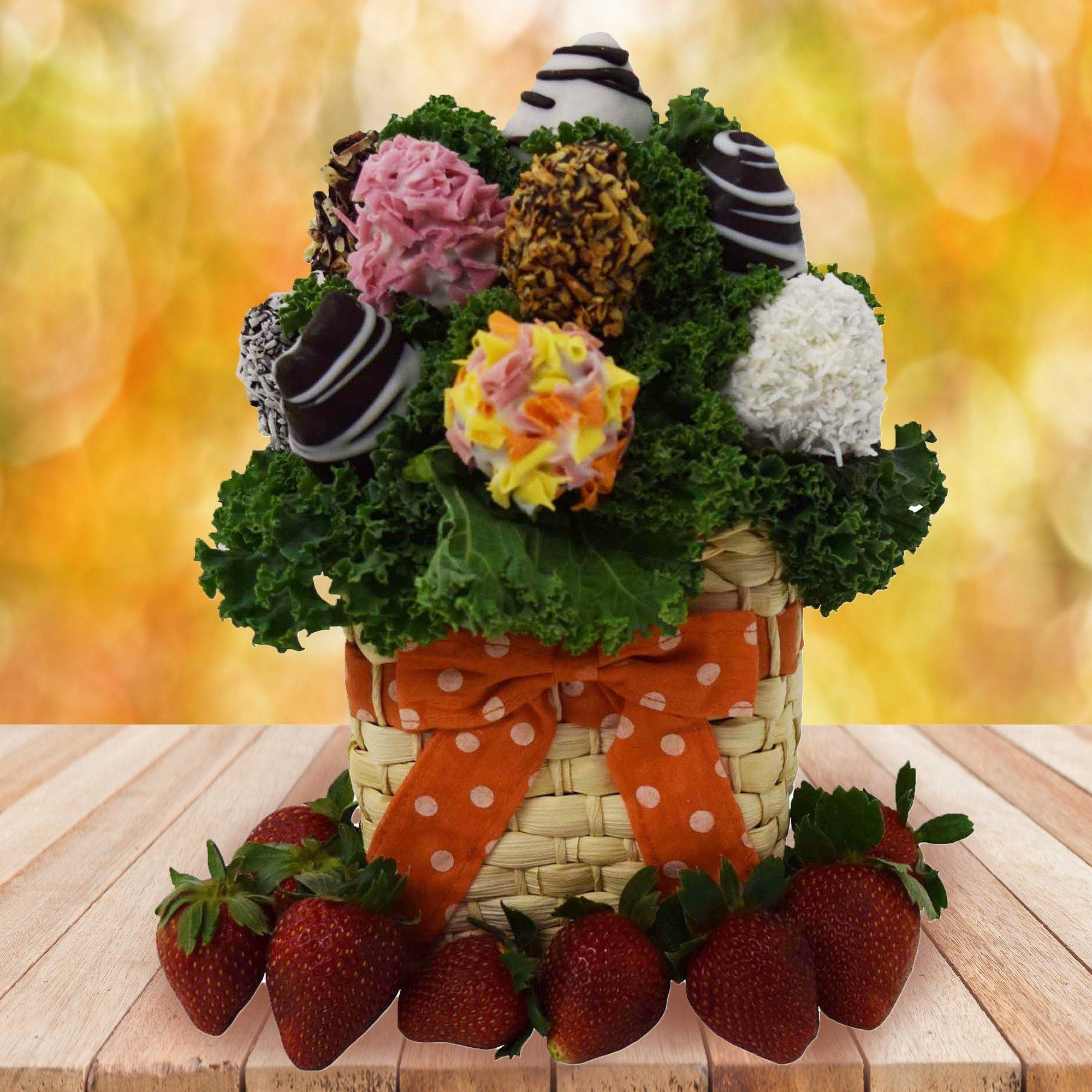 Chocolate Dipped Strawberry Bouquet | Yorkville - YORKVILLE\'S | USA