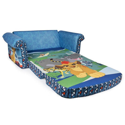 Disney Junior The Lion Guard Marshmallow Furniture Childrens Upholstered 2 In 1 Flip Open