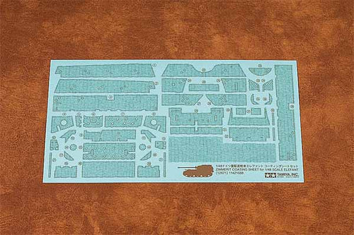 1/48 Elefant Zimmerit sheet