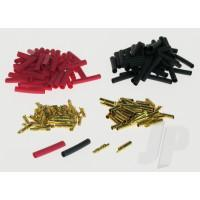2mm Gold Connector Bulk (50 Pairs +