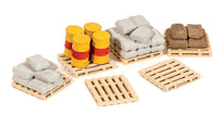 Pack of Assorted Pallets, Sacks &