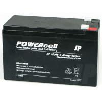 12V-7 Ah Powercell Gel Battery