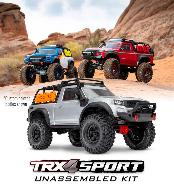 TRX-4® Sport Unassembled Kit: 4WD Electric Truck Kit