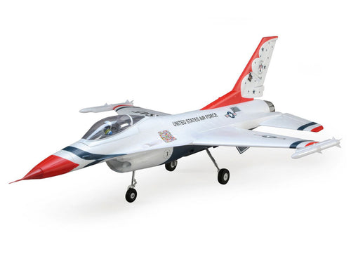 F-16 Thunderbirds 70mm EDF Jet BNF Bas