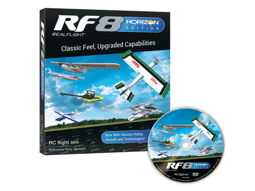 RealFlight RF8 software only Horizon H