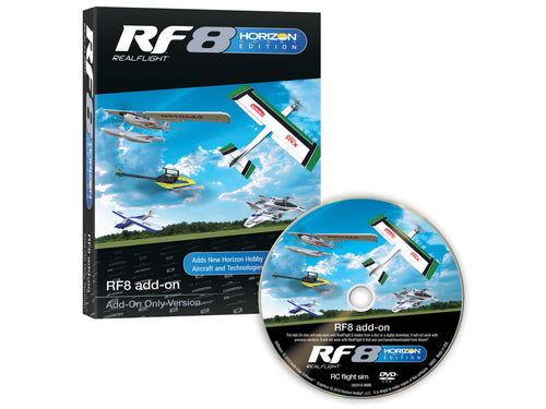 RealFlight RF8 add-ons 1 Horizon Hobby
