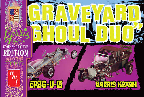 Graveyard Ghoul Duo (George Barris Commemorative Edition)