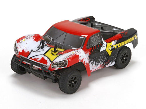 Torment 4WD Short Course Truck: Black/