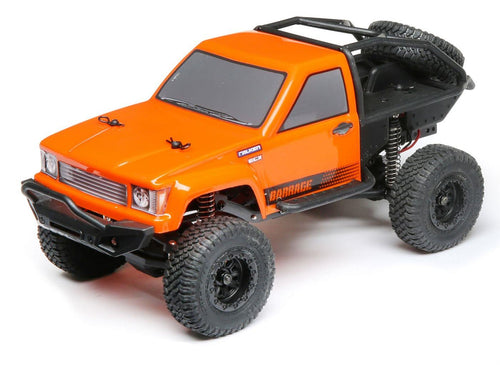 Barrage, Orange 4WD 1:24 RTR