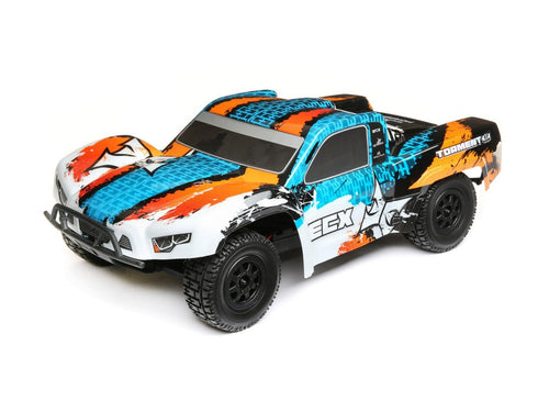 1/10 4WD Torment Brushed Orange/Blue R