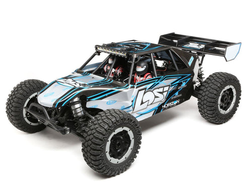 Desert Buggy XL-E:1/5th 4WD Elec RTR Grey/Blue