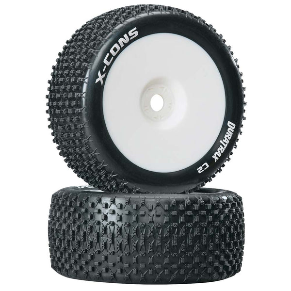 X-Cons 1/8 Truggy Tire Mounted (2)