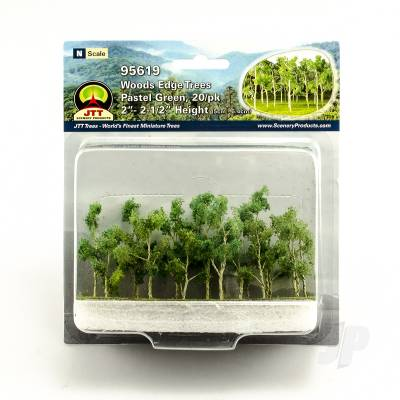 95619 Woods Edge Trees, Pastel