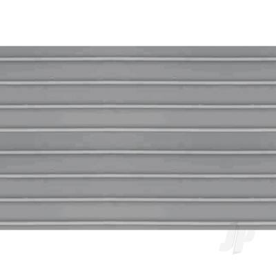 97407 Ribbed Roof, HO-Scale, 1/100, (2
