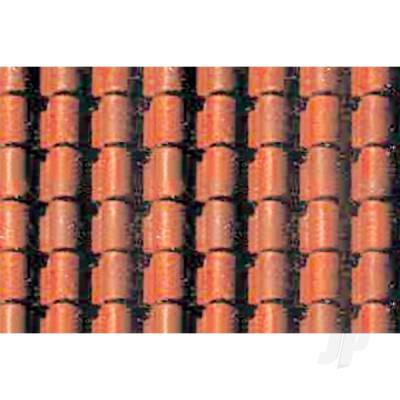 97435 Spanish Tile, 1/48, O-Scale, (2