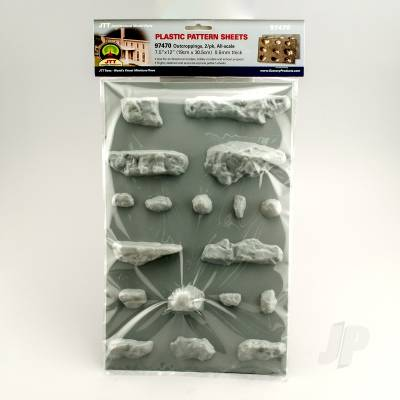 97470 Outcroppings, All-Scale, (2 per
