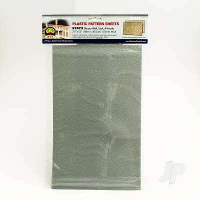 97473 Stucco Wall, N-scale, (2 per