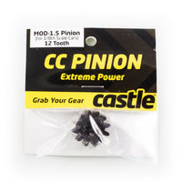CC PINION 12 Tooth - MOD1.5, 8mm shaft