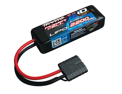 2200mAh 7.4V 2S 25C LiPo ID Battery