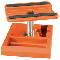 Pit Tech Deluxe Car Stand Orange