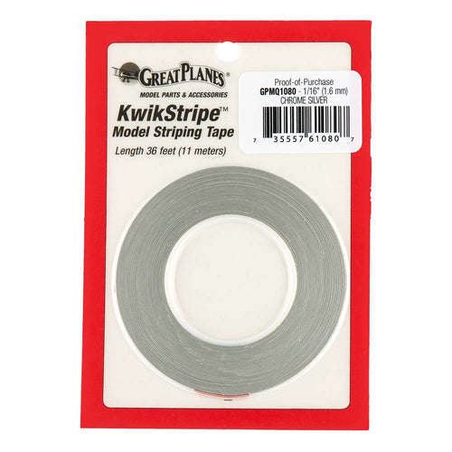 Striping Tape Chrome Silver