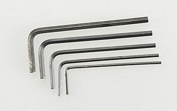 Short Hex Wrench Set (5)