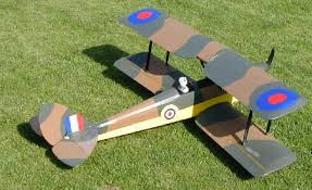 RIPMAX TIGER MOTH With O.S 40 fs (BUILT)