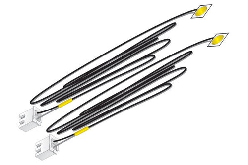 Yellow Stick-on LED Lights
