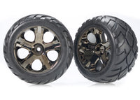 Tires & wheels, AllStar black