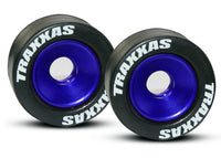Wheels, (blue-anodized