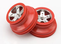 Wheels, SCT sat.chrome/red