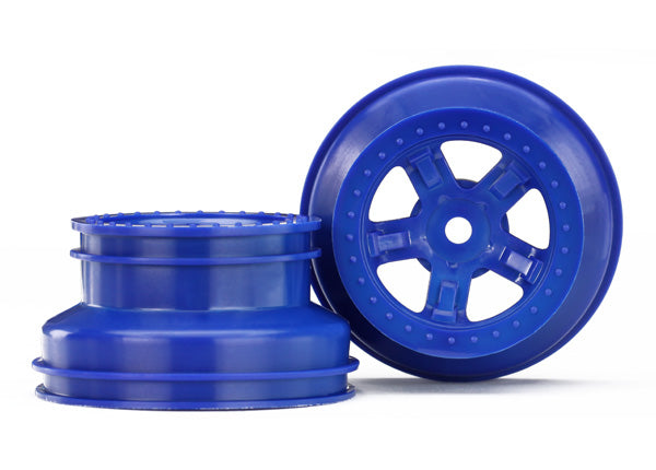 Wheels, (2) Sct Blue, Beadlock