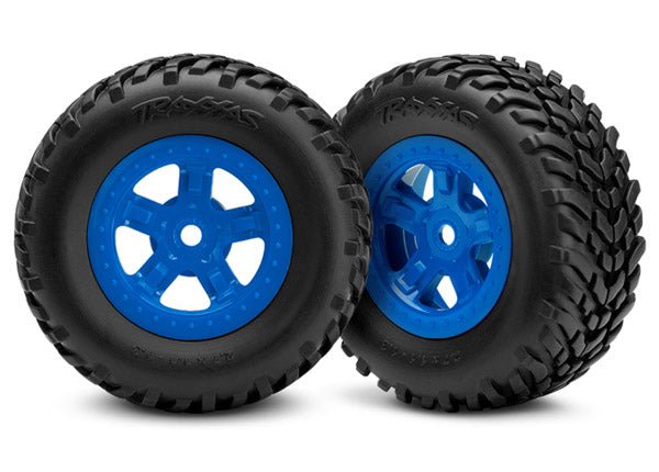 Tires & Wheel, Assembeled, Blu