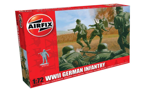 WWII German Infantry 1:72
