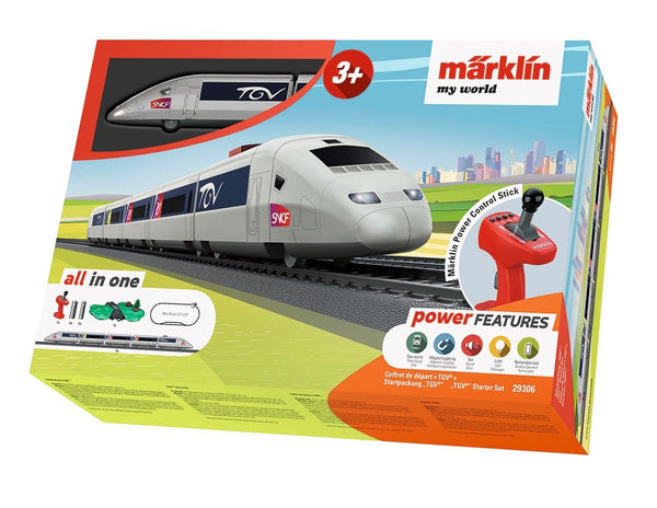 Marklin My World French TGV Express Train Starter Set