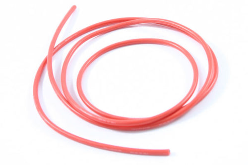 ETRONIX 12swg SILICONE WIRE RED