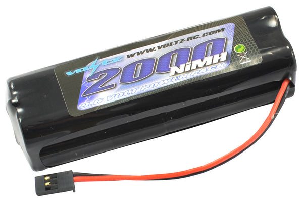 VOLTZ  Square 9.6v Tx Battery