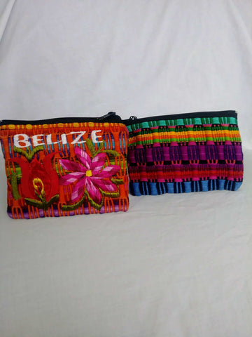 Purse made from fine cloth material colorful Handbags - armazonee Store