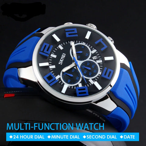 Skmei Casual Quartz Wrist Men Watch - armazonee Store